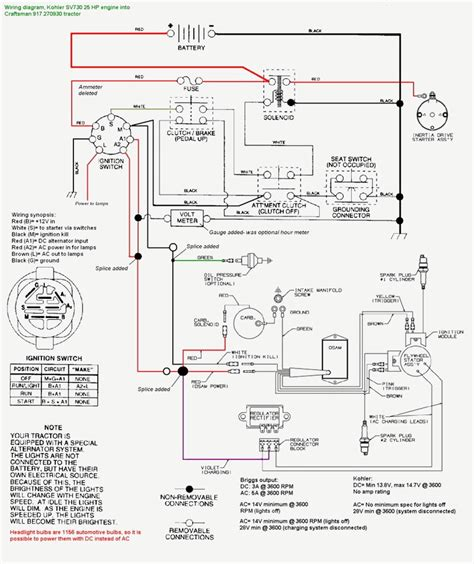 16 hp briggs and stratton engine wiring diagram wiring