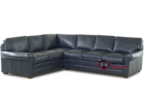 sectionals montreal montreal leather true sectional by savvy is fully
