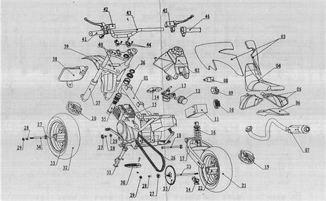 110cc engine wiring diagram electric motorcycle get free