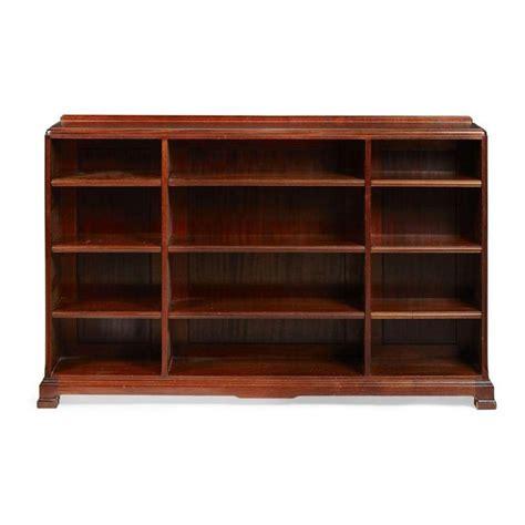 20 Wide Bookcase Whytock Mahogany Low Bookcase 20th Century 154cm Wide