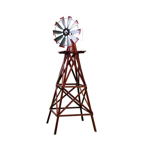 decorative windmills for homes 10 ft wood backyard windmill byw0136 the home depot