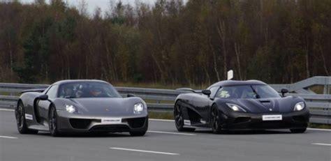 How Much Does A Koenigsegg Ccx Cost Porsche 918 Spyder Vs Koenigsegg Agera R