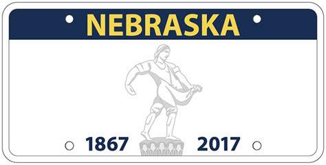 nebraska dmv lincoln ne ricketts reveals new nebraska state license plate design