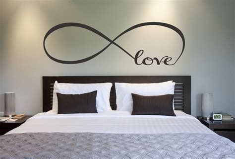 Home Decor Love | love infinity symbol bedroom wall decal love decor love