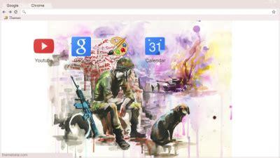 theme google chrome nirvana animals chrome themes themebeta