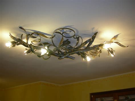 Bedroom Ceiling Light Ideas appliques in ferro battuto e plafoniere in ferro pag 2