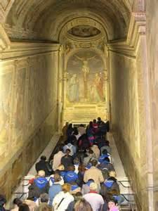 heilige treppe die kirchen santa maggiore und lateranbasilika