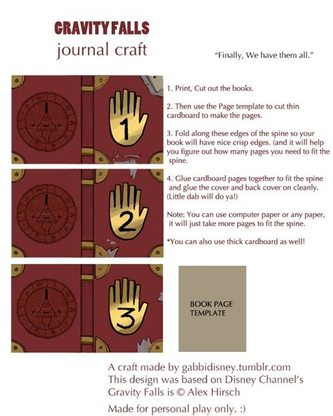 printable journal pages gravity falls have you always wanted a gravity falls pocket journal now