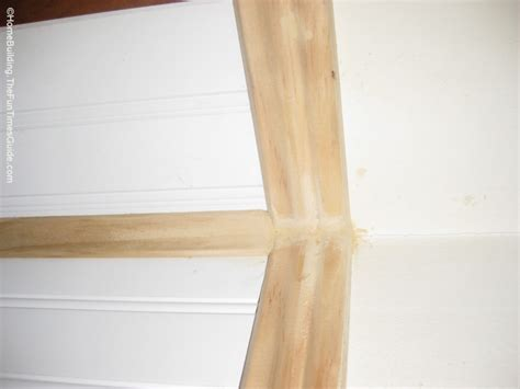 how to finish wainscoting corners how to install beadboard paneling the homebuilding