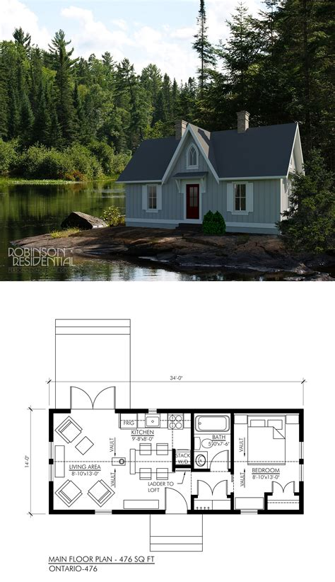 cottage floor plans ontario ontario 504 tiny houses house and smallest house