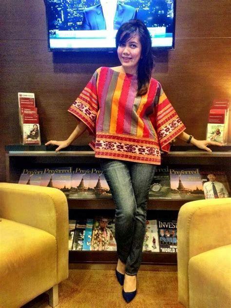 Top Blouse Songket Batik Wanitabaju Blus 17 best images about songket batik on peplum blouse jakarta and print skirt