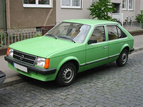 Opel Kadett Parts Opel Kadett Technical Details History Photos On Better
