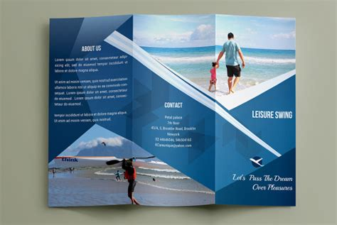 bali travel brochure