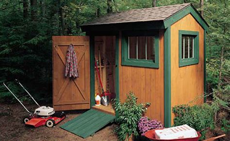 garden shed plans construct