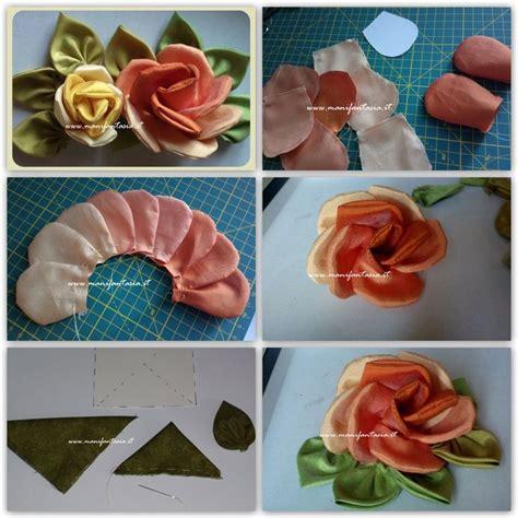 come fare i fiori con la stoffa oltre 25 fantastiche idee su di stoffa su