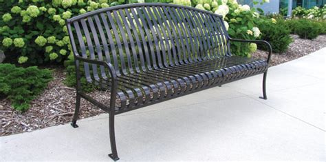 belson outdoors benches premier arched patio bench metal park benches belson