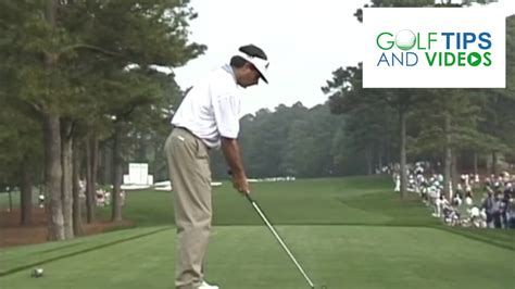 Golf Swing Motion by Fred Couples Motion Golf Swing At Augusta