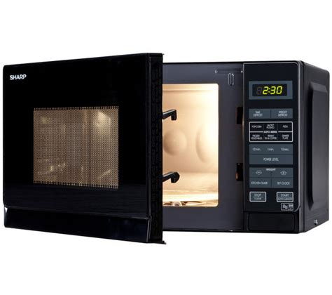 Microwave Sharp R 299in S buy sharp r272km microwave black free delivery currys