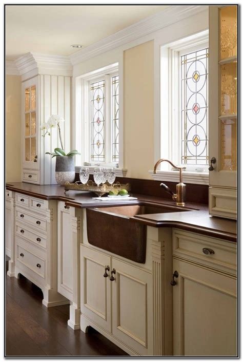 copper sink white cabinets copper farmhouse sink with white cabinets sink and