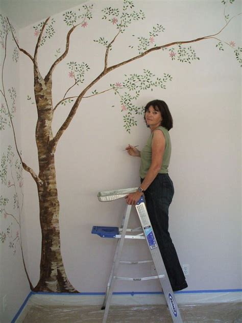 paint on wall 25 best images about tree wall painting on pinterest