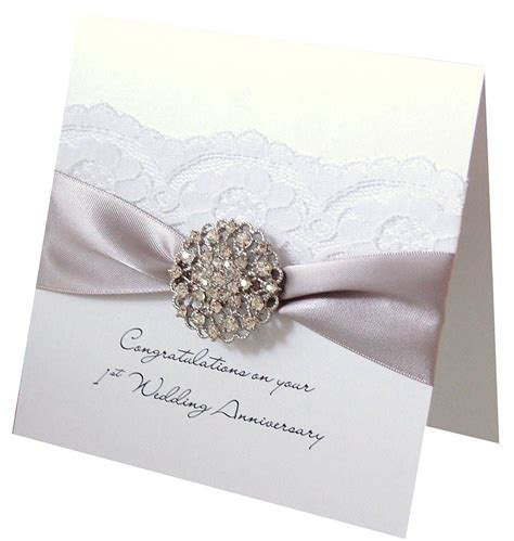 how to make wedding anniversary cards 2 opulence wedding anniversary card