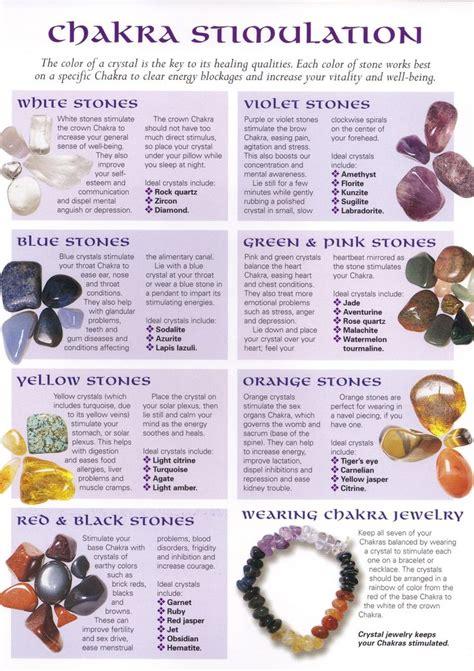 i this chakra crystals chart the tao of