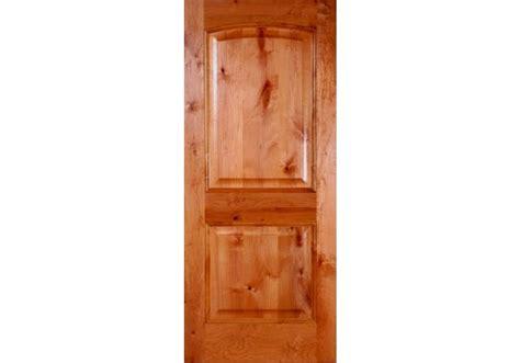 Interior Alder Doors Knotty Alder 2 Panel Arched Door Eto Doors