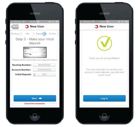 mobile account consumers can open checking accounts with smartphone cameras