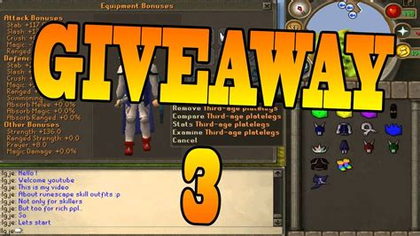 Runescape Giveaway 2017 - runescape 2017 giveaway week 3 giving away runescape gold youtube