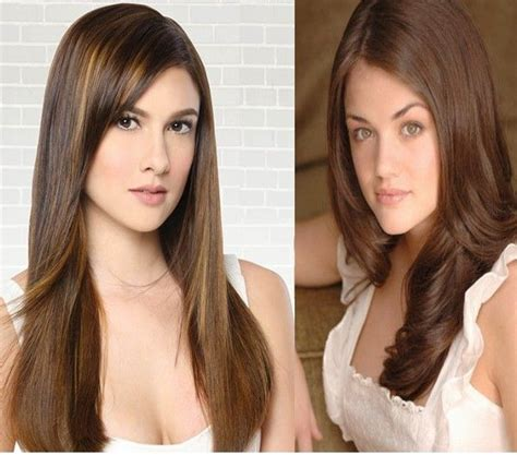 hair color for pinays 383 best brown hair images on pinterest
