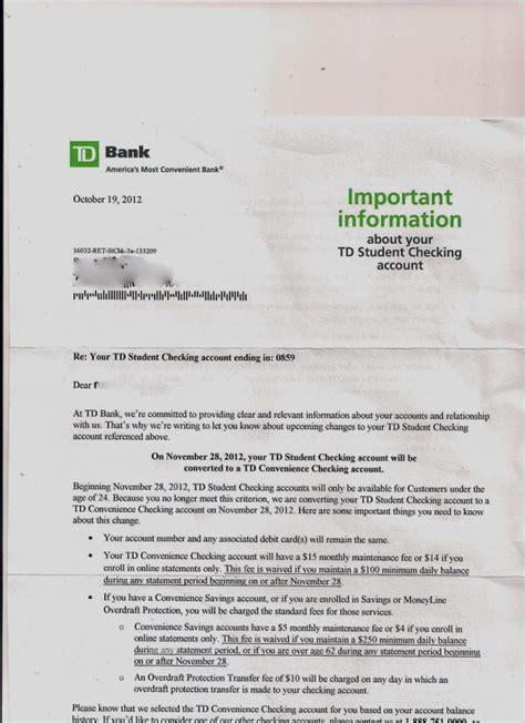 Letter Of Credit From Td Bank Ripoff Report Td Bank Td Td Bank Financial Say No To Td Bank Car Sales
