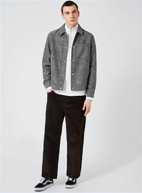 Quincylabel Topman Zipper Grey topman grey textured coach jacket