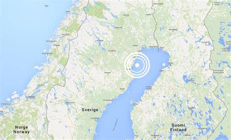 Jordskalv Sverige Jordb 228 Vning I Norra Sverige Mars 2016 Lule 229 Tekniska