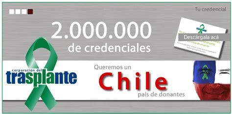 tramite para declararse no donante sea de 500 pesos cooperativa cl distrito iv y la comunidad chile tr 225 mite para no ser