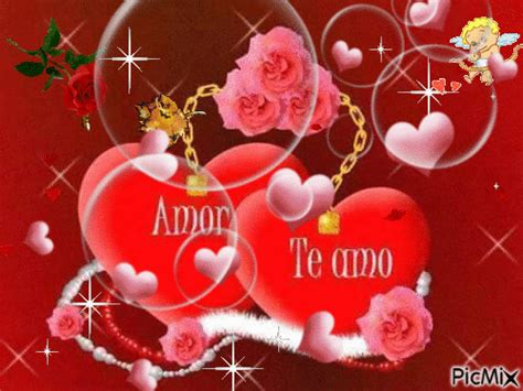 imagenes virtuales de amor con movimiento amor te amo picmix