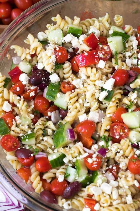 greek pasta salad the blond cook 25 best ideas about macaroni salad with tuna on pinterest