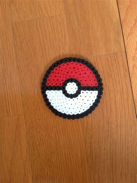melty bead designs pokeball melty