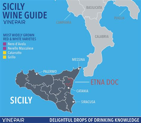 sicily on map an introduction to the wines of sicily with map vinepair
