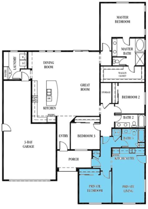 Multigenerational House Plans Multigenerational House Plans The Multiplier Effect Pro Builder House Review Multigenerational