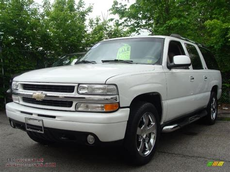 2006 Chevy Suburban by 2006 Chevrolet Suburban Ltz 1500 4x4 In Summit White