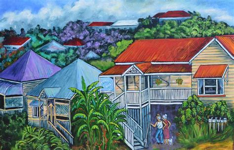 Acrylic Painting Artist Paintings Streetscape Painting