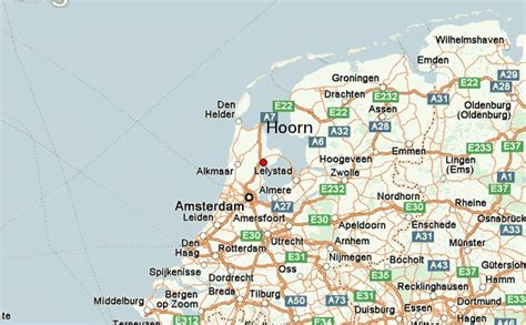 hoorn netherlands map hoorn location guide