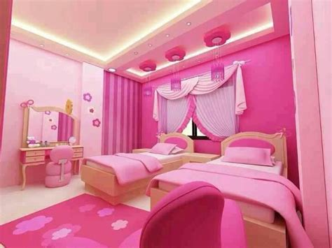 all in pink bedroom it