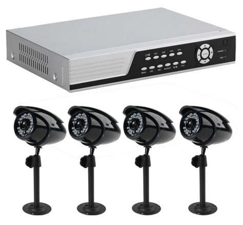 New Alert Is Wired by Alert 4800 Wired Surveillance System With 4 Cameras