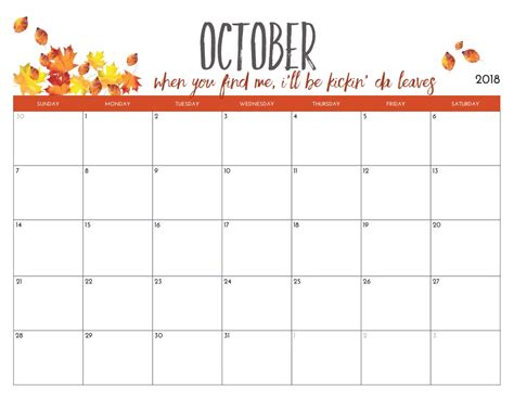 printable 2018 monthly calendar template free printable 2018 monthly calendar calendar 2018