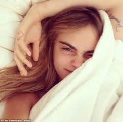 cara delevingne proves she s a in bed snap