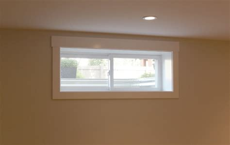 small basement windows construction is finally done our basement reveal satori