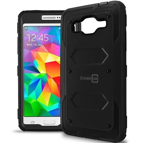Casing Hardcase Samsung Grand Prime coveron 174 for samsung galaxy grand prime protective hybrid phone cover ebay