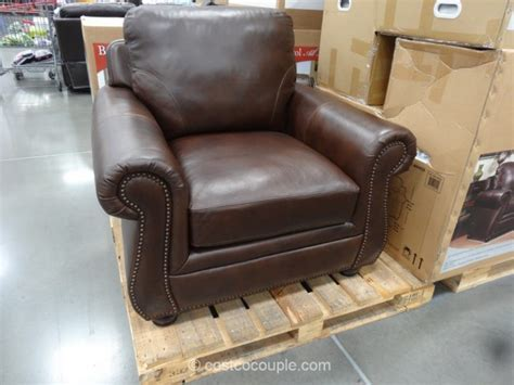 Synergy Caroline Leather Recliner Swivel Glider by Costco Leather Chairs Amazing Home Interior Design Ideas
