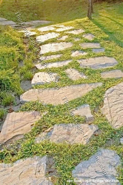 flagstone path yard ideas pinterest